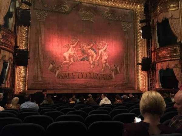 Theatre Royal Haymarket, Abschnitt: Stalls, Reihe: O, Platz: 15