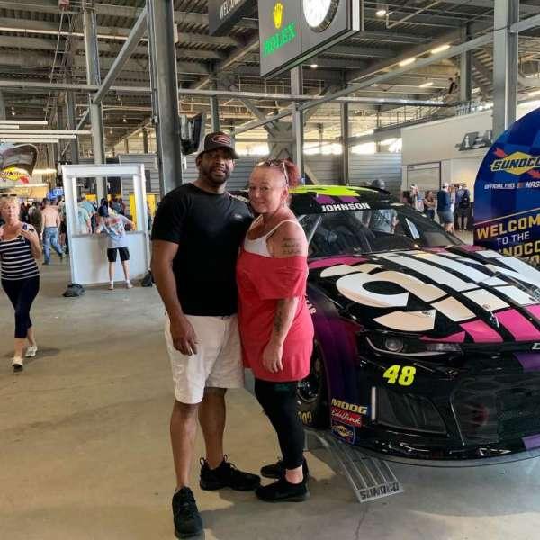 Daytona International Speedway, Abschnitt: 316, Reihe: 1, Platz: 17