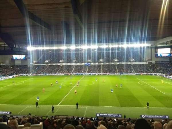 Ibrox Stadium, Abschnitt: Main stand rear, Reihe: A, Platz: 131