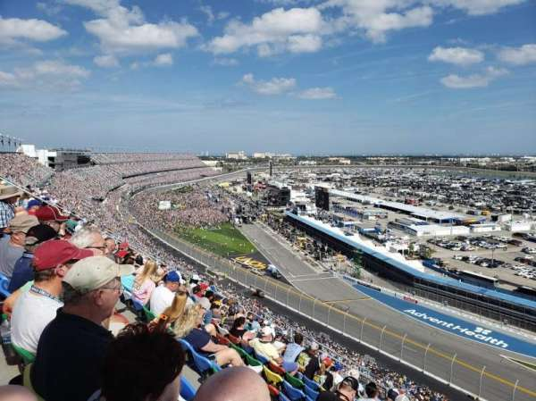 Daytona International Speedway, Abschnitt: 482, Reihe: 40, Platz: 18