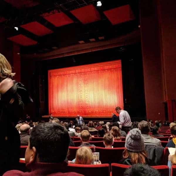 San Diego Civic Theatre, Abschnitt: Orch R, Reihe: R, Platz: 50