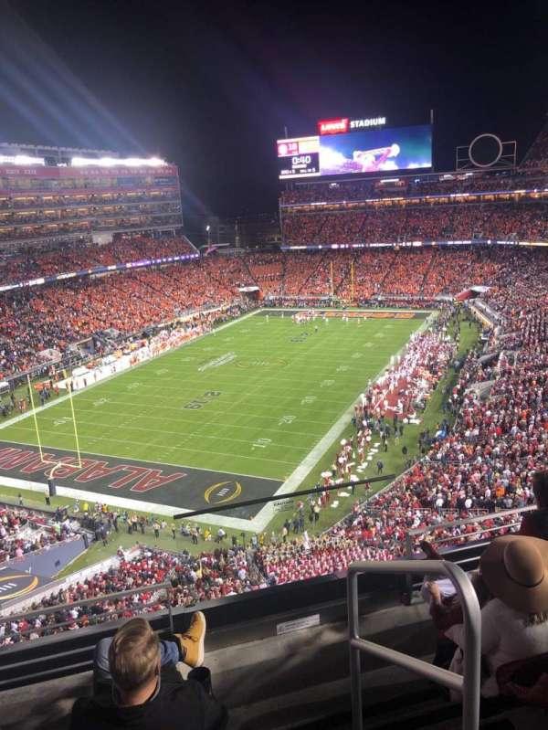 Levi's Stadium, Abschnitt: 323, Reihe: 4, Platz: 1