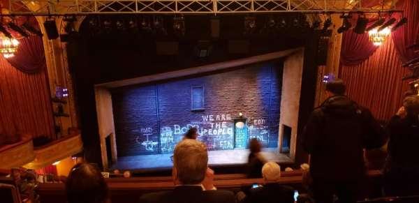 Bernard B. Jacobs Theatre, Abschnitt: Balcony, Reihe: J, Platz: 111