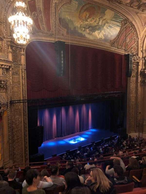 Chicago Theatre, Abschnitt: Balcony, Reihe: F, Platz: 113