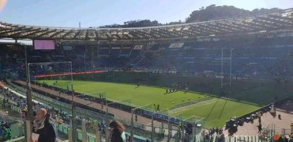 Stadio Olimpico, Abschnitt: 43, Reihe: 48, Platz: 7s