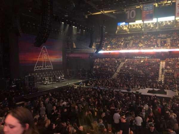 Mohegan Sun Arena, Abschnitt: 24, Reihe: Q, Platz: 20