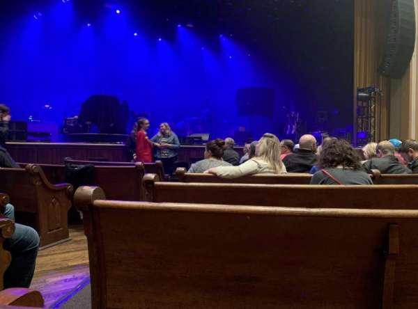 Ryman Auditorium, Abschnitt: MF-5, Reihe: H, Platz: 11,12