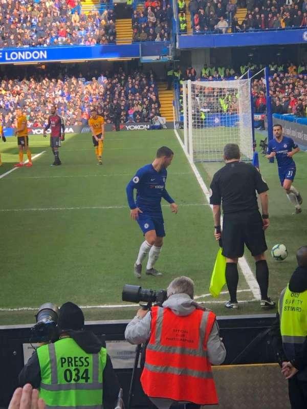 Stamford Bridge, Abschnitt: 1, Reihe: 10, Platz: 4