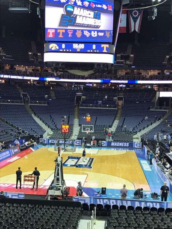 Nationwide Arena, Abschnitt: 120, Reihe: U, Platz: 1