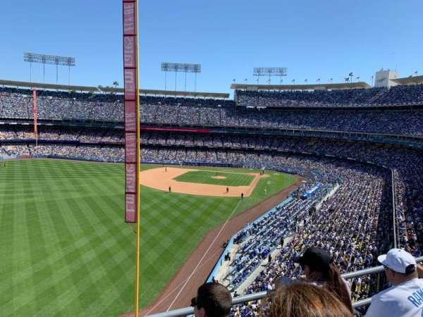 Dodger Stadium, Abschnitt: 55RS, Reihe: C, Platz: 11