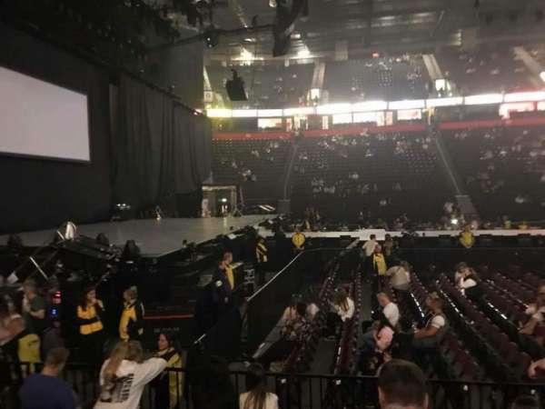 Manchester Arena, Abschnitt: 102, Reihe: F, Platz: 12