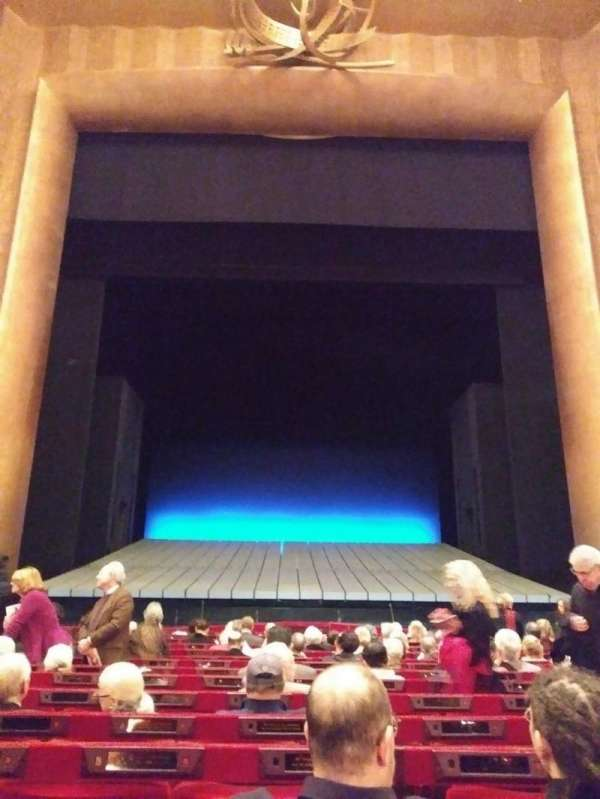 Metropolitan Opera House - Lincoln Center, Abschnitt: Orchestra, Reihe: N, Platz: 109