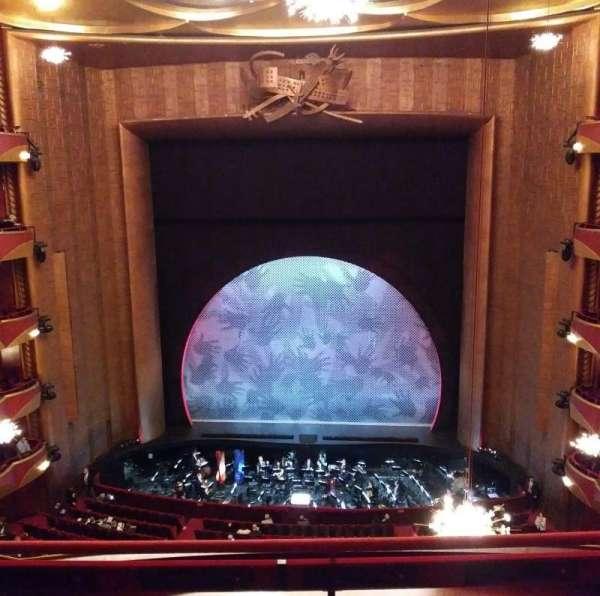 Metropolitan Opera House - Lincoln Center, Abschnitt: Balcony, Reihe: C, Platz: 108
