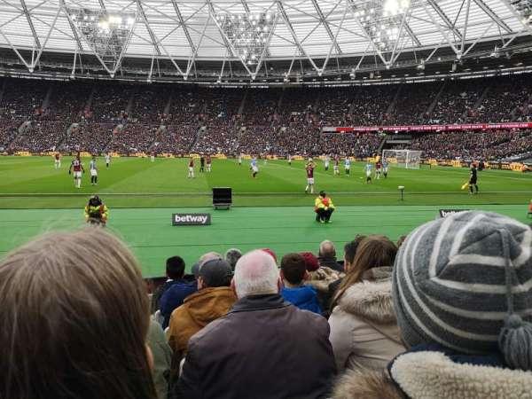 London Stadium, Abschnitt: 110, Reihe: 6, Platz: 263