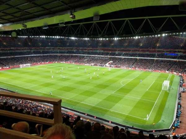Emirates Stadium, Abschnitt: 109, Reihe: 9, Platz: 488