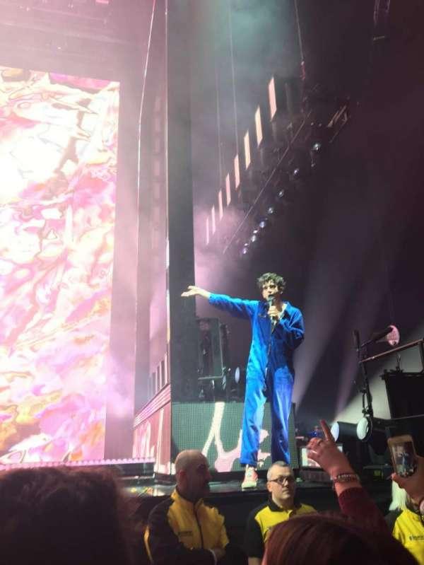 Manchester Arena, Abschnitt: Standing