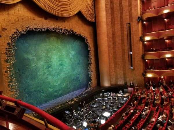 Metropolitan Opera House - Lincoln Center, Abschnitt: Grand tier, Reihe: Box 33, Platz: 1