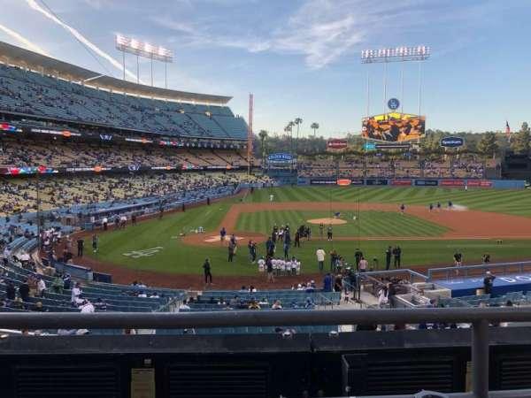 Dodger Stadium, Abschnitt: 120LG, Reihe: B, Platz: 1-2