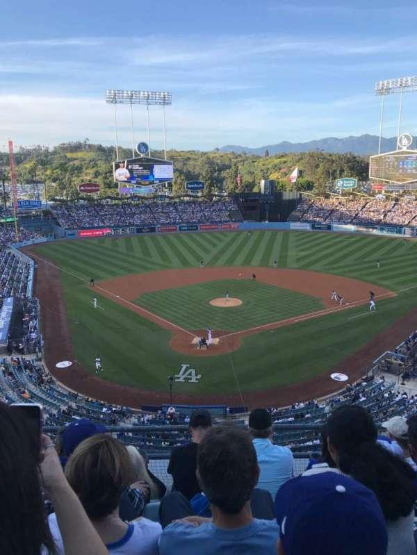 Dodger Stadium, Abschnitt: 2RS, Reihe: E, Platz: 10
