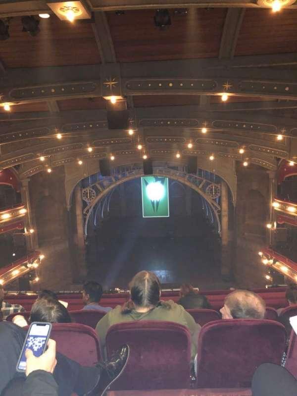 Lyric Theatre, Abschnitt: Balcony C, Reihe: D, Platz: 112