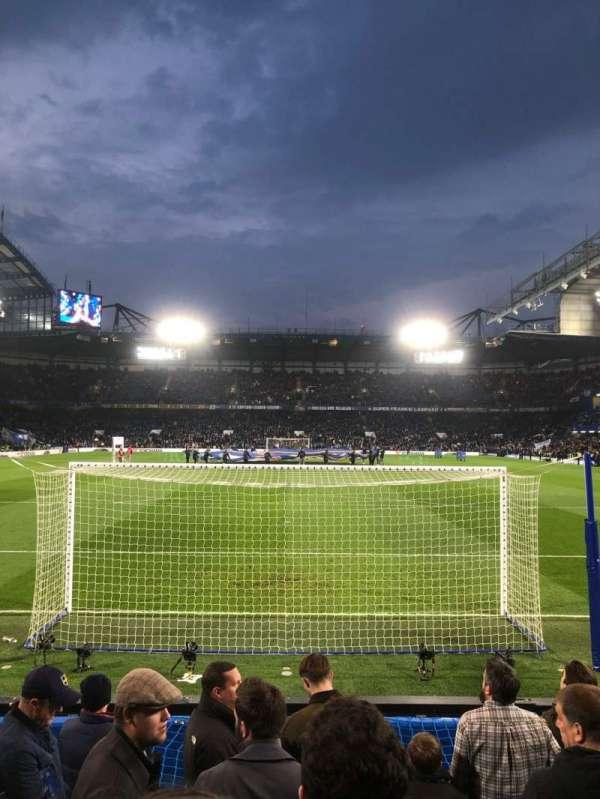 Stamford Bridge, Abschnitt: Shed Lower, Reihe: 9, Platz: 110