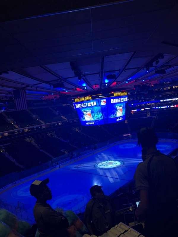 Madison Square Garden, Abschnitt: 220, Reihe: 10, Platz: 25