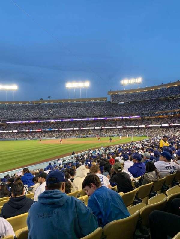 Dodger Stadium, Abschnitt: 47fd, Reihe: S, Platz: 21