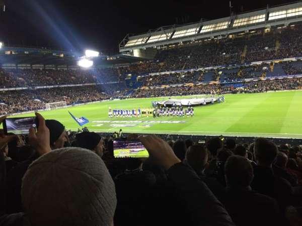 Stamford Bridge, Abschnitt: West stand lower, Reihe: 30, Platz: 53