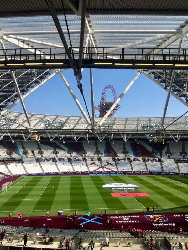 London Stadium, Abschnitt: 206, Reihe: 57, Platz: 483
