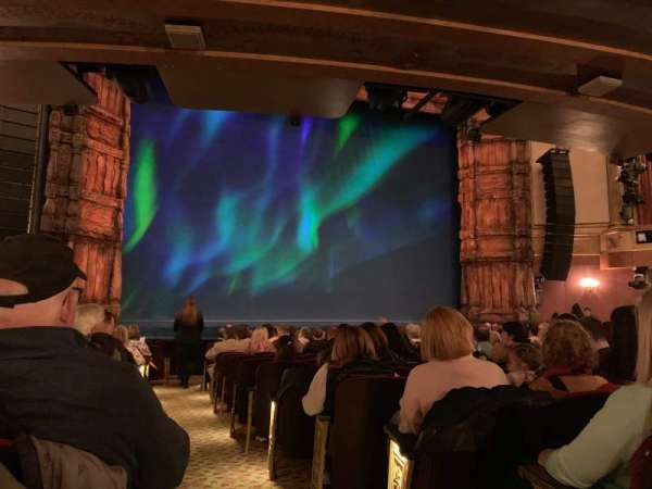 St. James Theatre, Abschnitt: Orchestra L, Reihe: O, Platz: 1