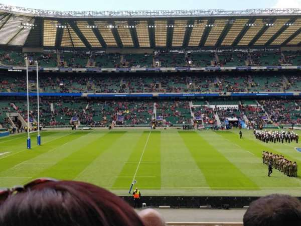 Twickenham Stadium, Abschnitt: L27, Reihe: 33, Platz: 262