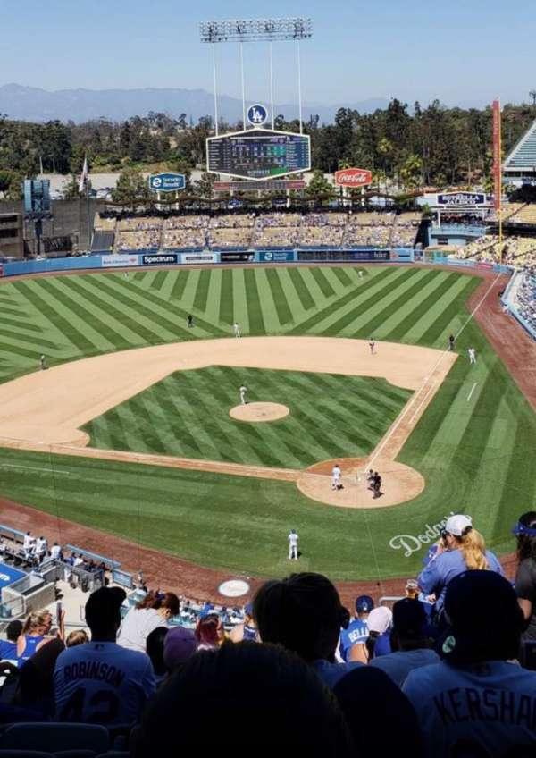 Dodger Stadium, Abschnitt: 7RS, Reihe: W, Platz: 6
