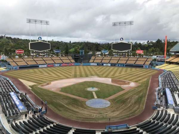 Dodger Stadium, Abschnitt: 3RS, Reihe: C, Platz: 8