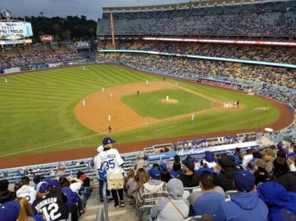 Dodger Stadium, Abschnitt: 23RS, Reihe: K, Platz: 13