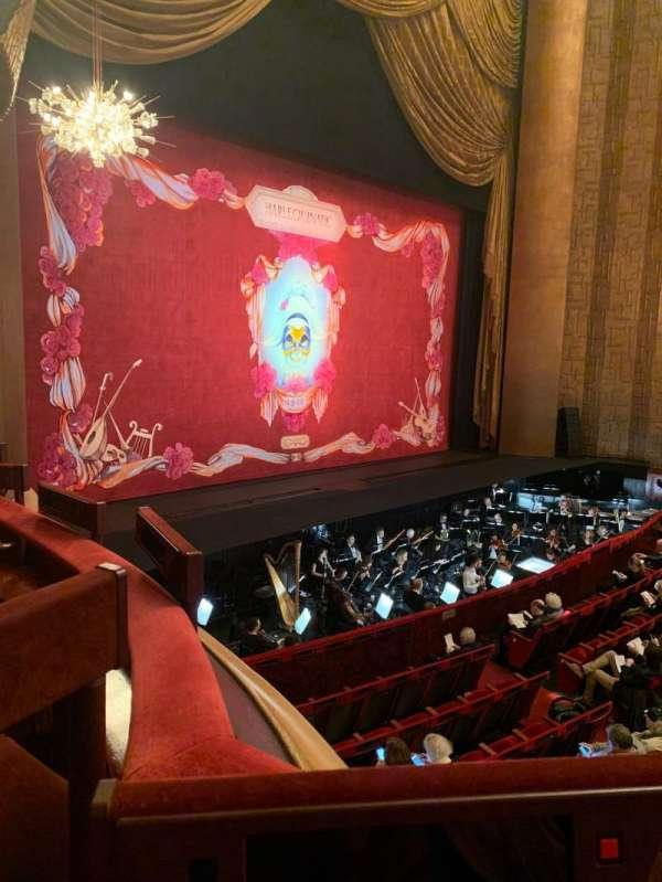 Metropolitan Opera House - Lincoln Center, Abschnitt: Parterre, Reihe: 5, Platz: 3