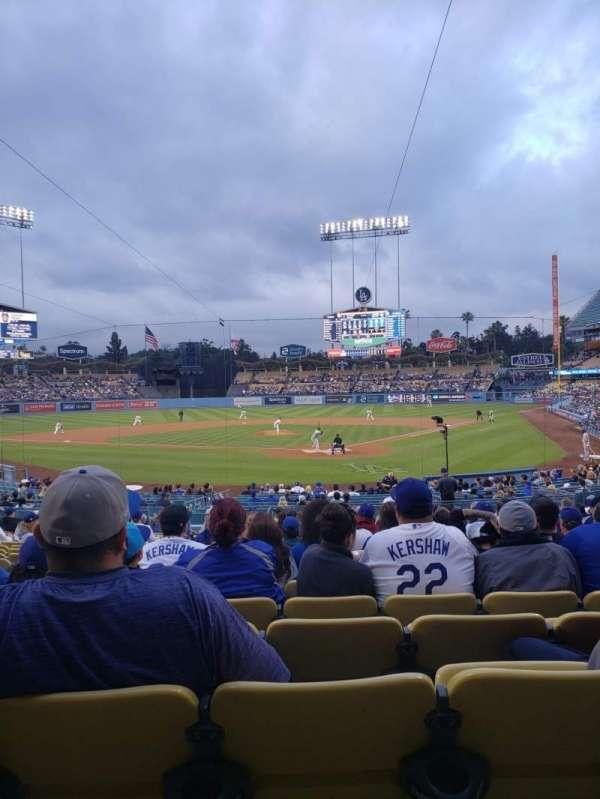 Dodger Stadium, Abschnitt: 3FD, Reihe: T, Platz: 9