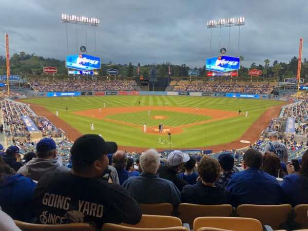 Dodger Stadium, Abschnitt: 101LG, Reihe: N, Platz: 5