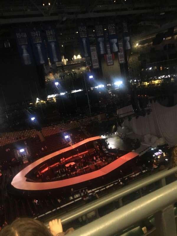 Scotiabank Arena, Abschnitt: 321, Reihe: 9, Platz: 6'7