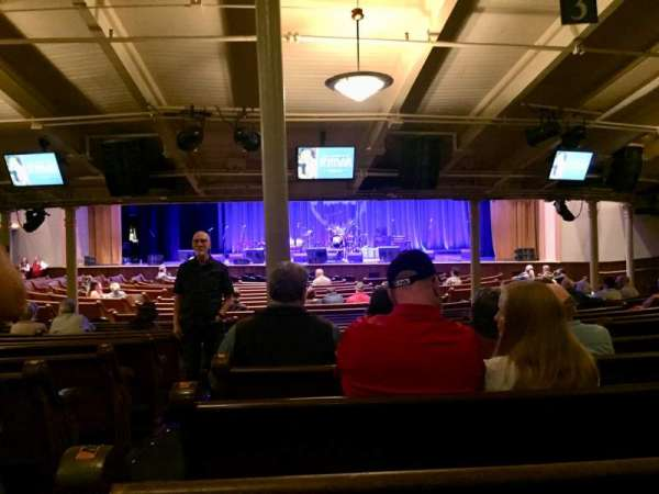 Ryman Auditorium, Bereich: MF-3, Reihe: Y, Platz: 15