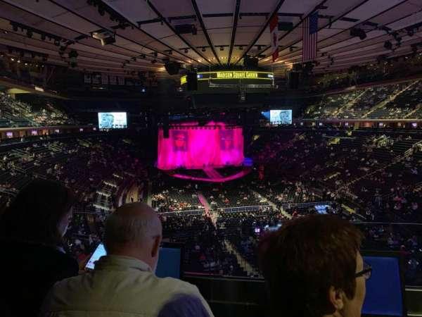 Madison Square Garden, Abschnitt: 203, Reihe: 2, Platz: 7