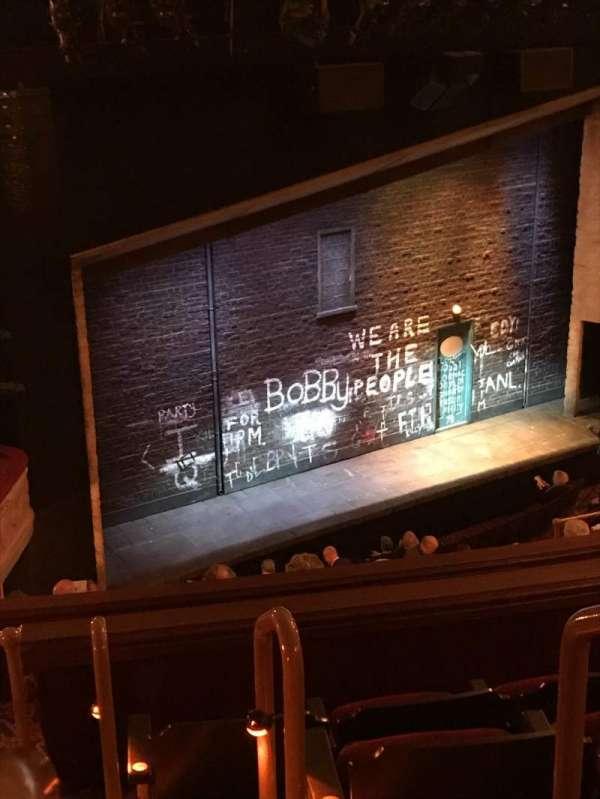 Bernard B. Jacobs Theatre, Abschnitt: Mezzanine, Reihe: J, Platz: 25