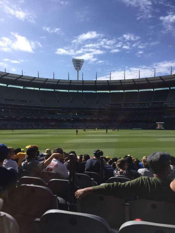 Melbourne Cricket Ground, Bereich: M13, Reihe: 12, Platz: 3