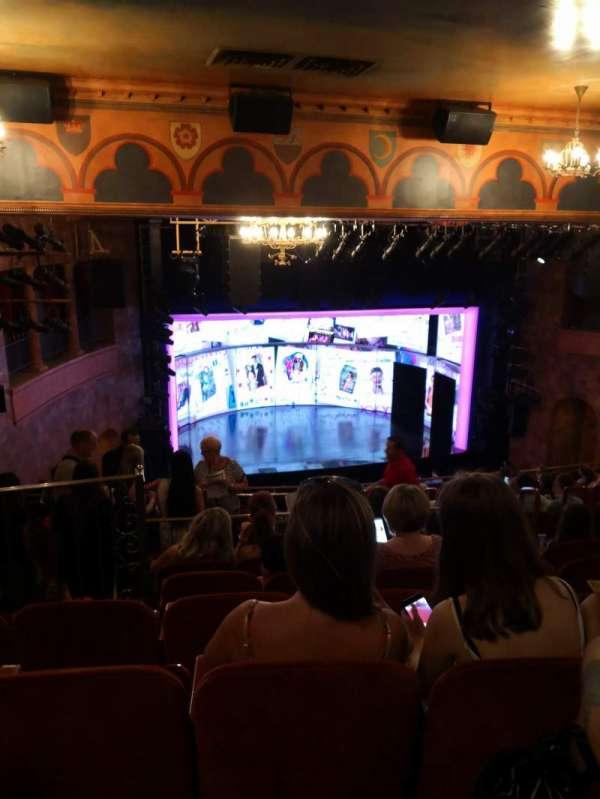 August Wilson Theatre, Abschnitt: Mezzanine, Reihe: O, Platz: 13