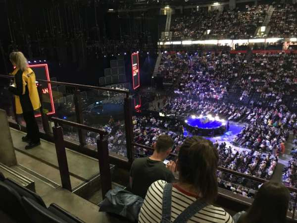 Manchester Arena, Abschnitt: 204, Reihe: c, Platz: 5