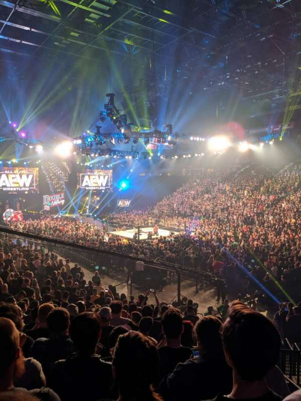 T-Mobile Arena, Abschnitt: 7, Reihe: S, Platz: 2