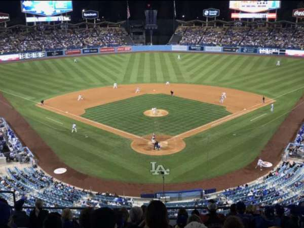 Dodger Stadium, Abschnitt: 1RS, Reihe: K , Platz: 11