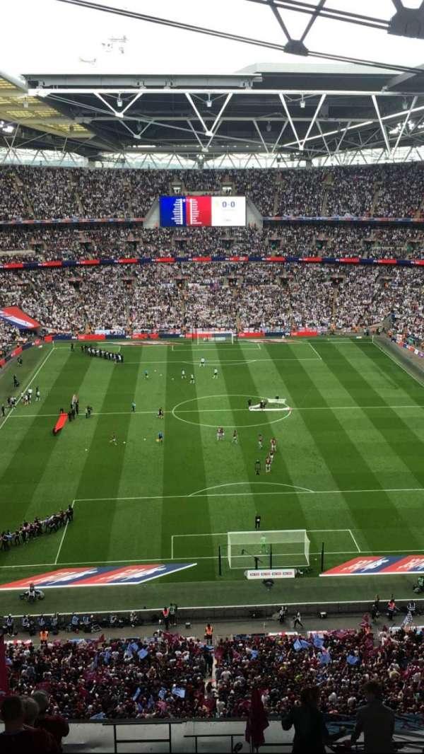 Wembley Stadium, Abschnitt: 540, Reihe: 24, Platz: 19