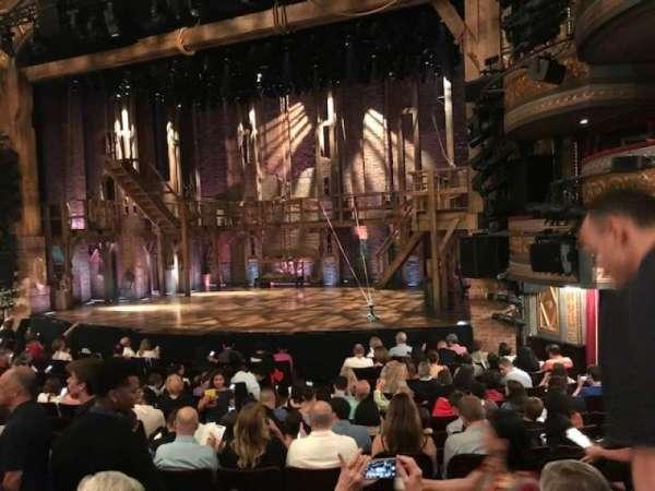 Richard Rodgers Theatre, Abschnitt: Orchestra R, Reihe: N, Platz: 16
