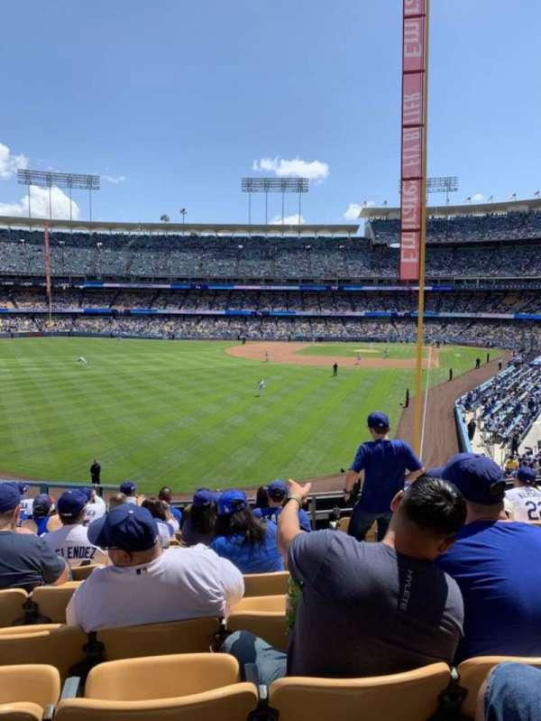 Dodger Stadium, Abschnitt: 167LG, Reihe: K , Platz: 4