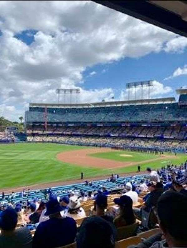 Dodger Stadium, Abschnitt: 153LG, Reihe: N, Platz: 5